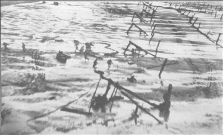 2 - Les obstacles sur la plage d'Omaha à Vierville 111_1010