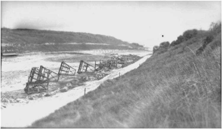 2 - Les obstacles sur la plage d'Omaha à Vierville 111_1210