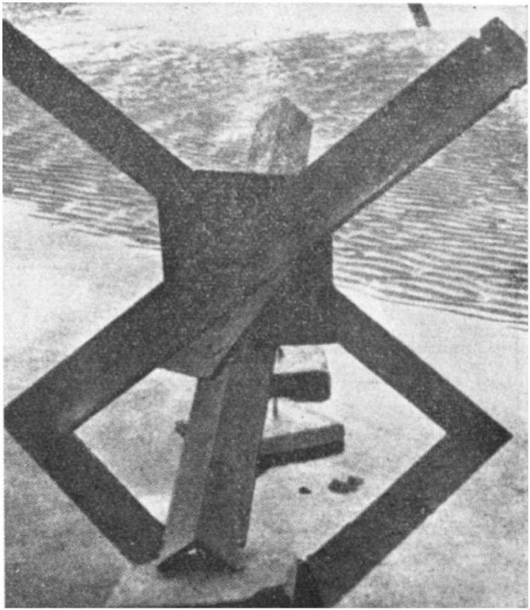 2 - Les obstacles sur la plage d'Omaha à Vierville 111_2211