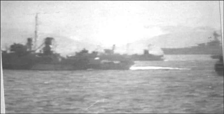 3 - Les forces navales et les bombardements navals prévus sur Omaha Beach le D DAY 1142-f10