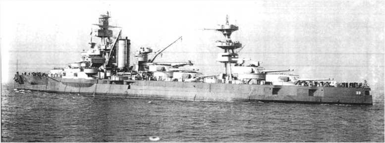 3 - Les forces navales et les bombardements navals prévus sur Omaha Beach le D DAY 1157-l10