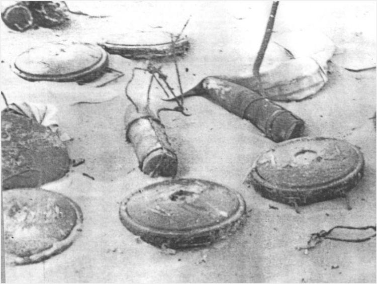 2 - Les obstacles sur la plage d'Omaha à Vierville 11_11612