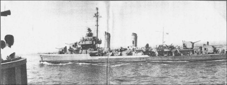 3 - Les forces navales et les bombardements navals prévus sur Omaha Beach le D DAY 122_1110