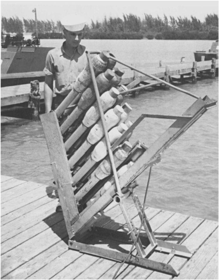 3 - Les forces navales et les bombardements navals prévus sur Omaha Beach le D DAY 122_1311