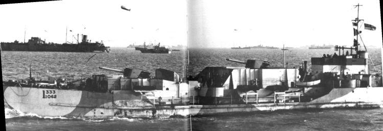 3 - Les forces navales et les bombardements navals prévus sur Omaha Beach le D DAY 122_3110