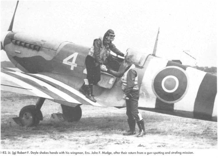 3 - Les forces navales et les bombardements navals prévus sur Omaha Beach le D DAY 122_5610