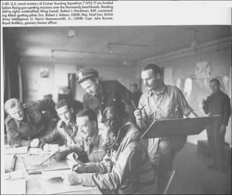 3 - Les forces navales et les bombardements navals prévus sur Omaha Beach le D DAY 122_5611
