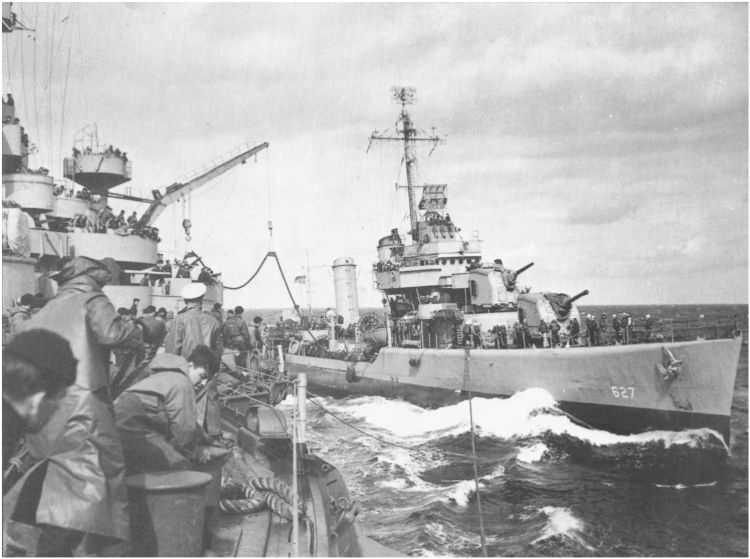 3 - Les forces navales et les bombardements navals prévus sur Omaha Beach le D DAY 122_6010
