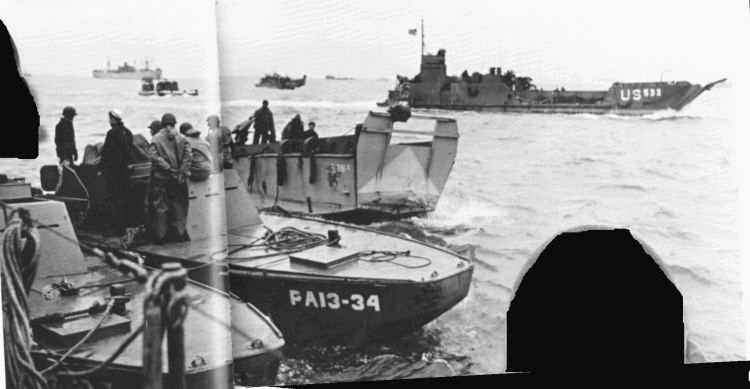3 - Les forces navales et les bombardements navals prévus sur Omaha Beach le D DAY 122_ld10