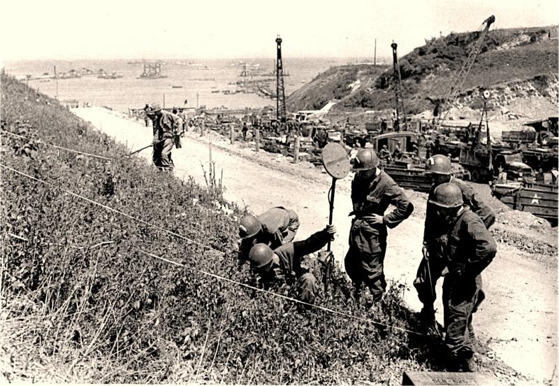 5 - Le déminage (Vierville sur Mer) 1944-110