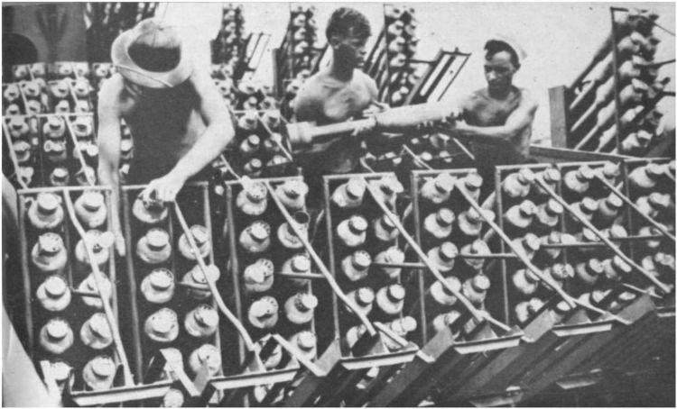 3 - Les forces navales et les bombardements navals prévus sur Omaha Beach le D DAY 232_1710