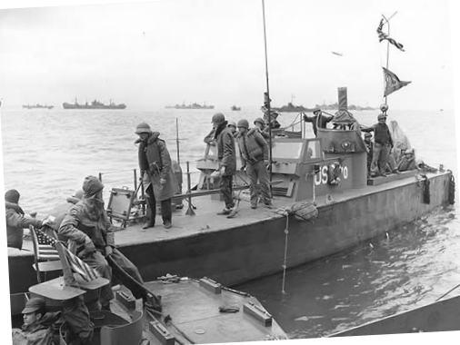 3 - Les forces navales et les bombardements navals prévus sur Omaha Beach le D DAY 80g25210