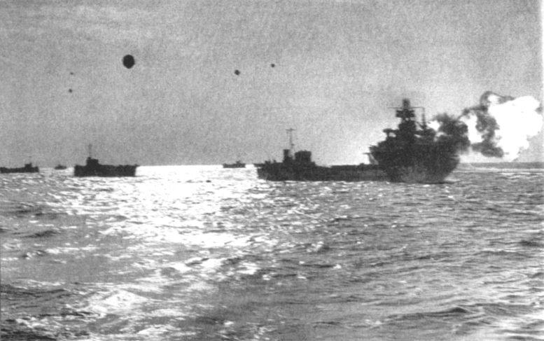 3 - Les forces navales et les bombardements navals prévus sur Omaha Beach le D DAY Arkans10