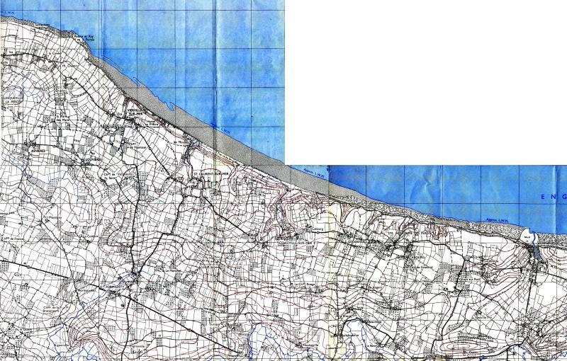 1 - Les plans de débarquement pour le Jour J Carte110