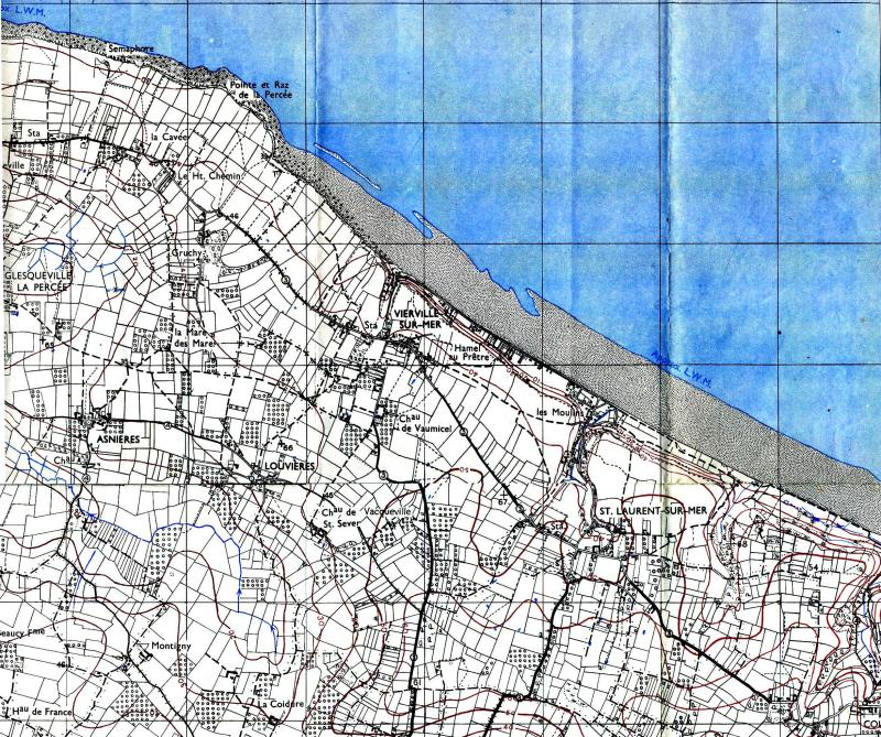1 - Les plans de débarquement pour le Jour J Carte111