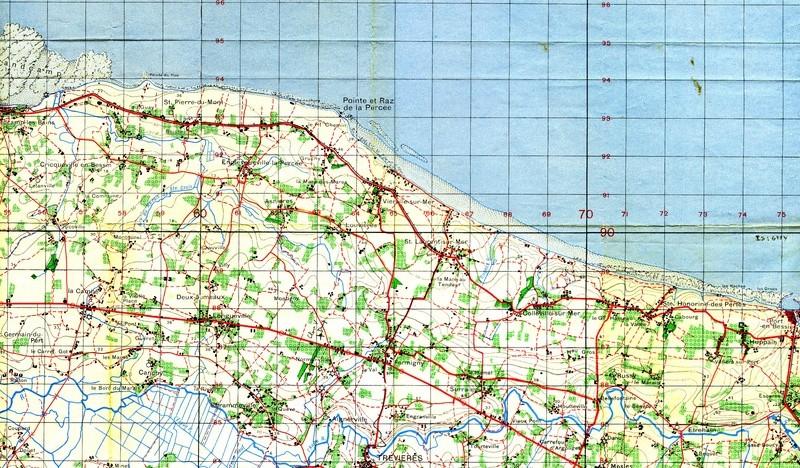 1 - Les plans de débarquement pour le Jour J Carteu11