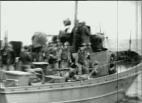 3 - Les forces navales et les bombardements navals prévus sur Omaha Beach le D DAY Dvd2-510