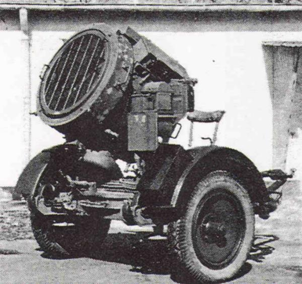 Flak-Sw36 Projecteur 60 cm Flakscheinwerfer Flaksc10