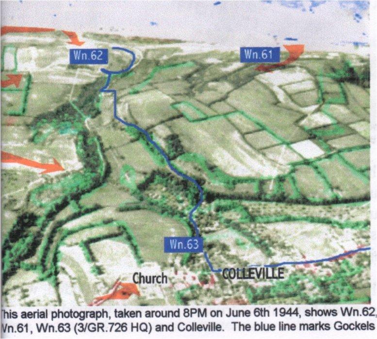 4 - Souvenirs du soldat Franz Gockel en garnison à Colleville-sur-Mer Fuitef10