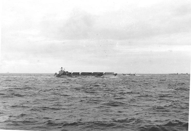 3 - Les forces navales et les bombardements navals prévus sur Omaha Beach le D DAY G2524811