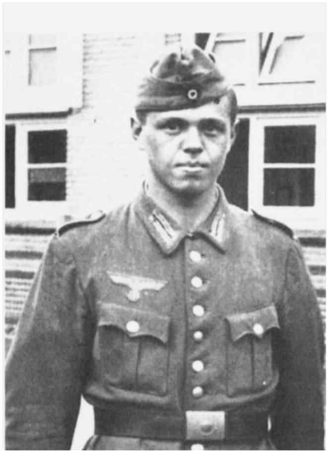 4 - Souvenirs du soldat Franz Gockel en garnison à Colleville-sur-Mer Ld61_g12