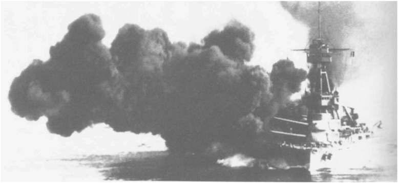3 - Les forces navales et les bombardements navals prévus sur Omaha Beach le D DAY Ld61_t10