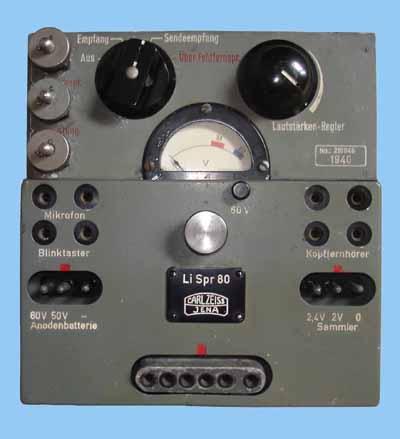 Lichtsprechgerät 80/80 ou la transmission sans fils !!!! Li-spr17