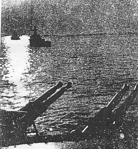 3 - Les forces navales et les bombardements navals prévus sur Omaha Beach le D DAY M-gl-a10