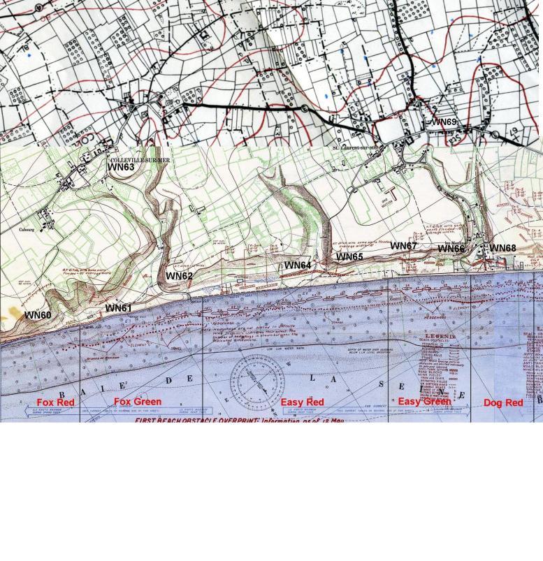 1 - Les plans de débarquement pour le Jour J Omaha711