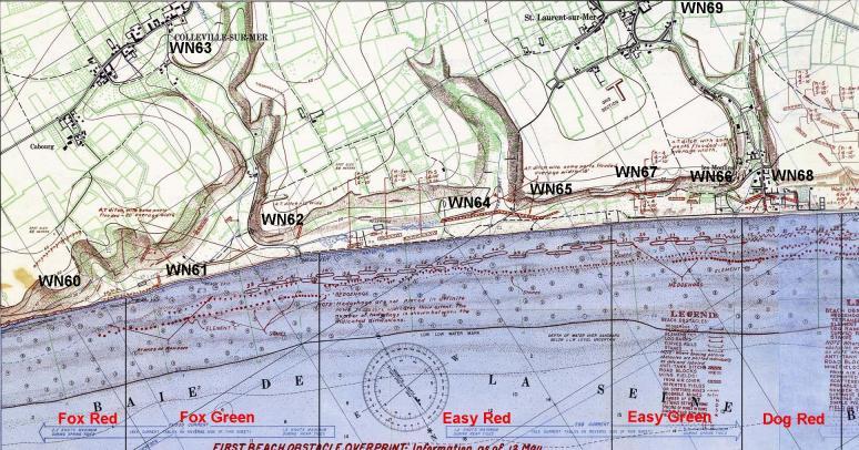 1 - Les plans de débarquement pour le Jour J Omaha712