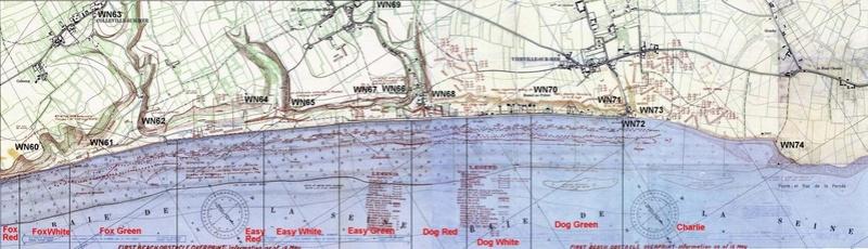 1 - Les plans de débarquement pour le Jour J Omaha713