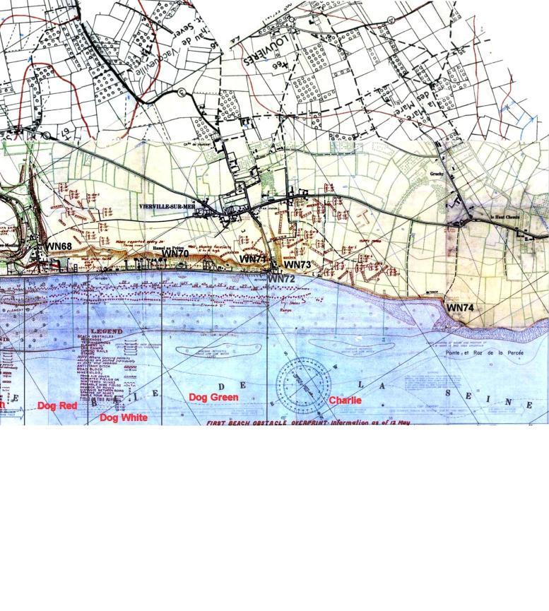 1 - Les plans de débarquement pour le Jour J Omaha715