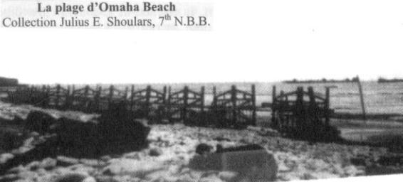 2 - Les obstacles sur la plage d'Omaha à Vierville Portes10