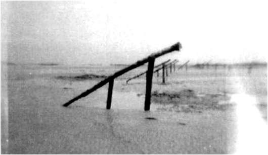 2 - Les obstacles sur la plage d'Omaha à Vierville Rampes11