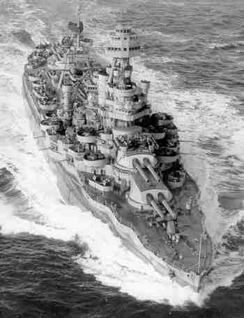 3 - Les forces navales et les bombardements navals prévus sur Omaha Beach le D DAY Texas110