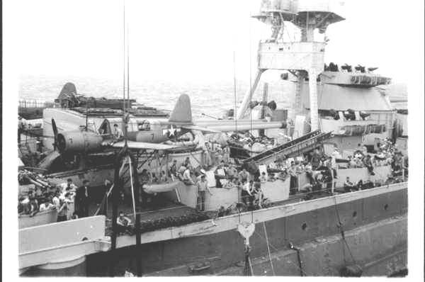 3 - Les forces navales et les bombardements navals prévus sur Omaha Beach le D DAY Texas310