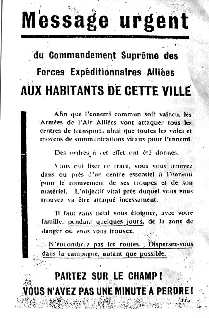 2 - Les bombardements aériens préalables au débarquement du D-DAY Tract_10