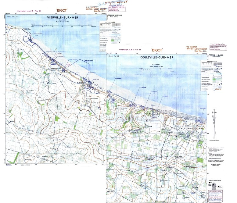 1 - Les plans de débarquement pour le Jour J Viervi21