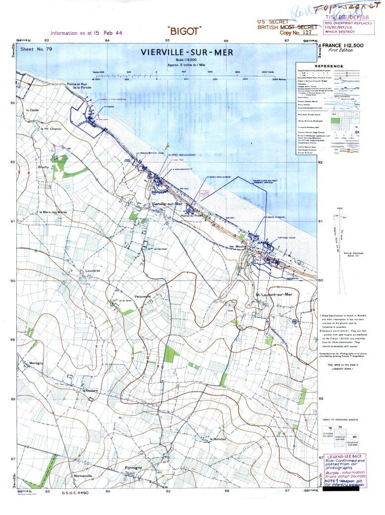 1 - Les plans de débarquement pour le Jour J Viervi22