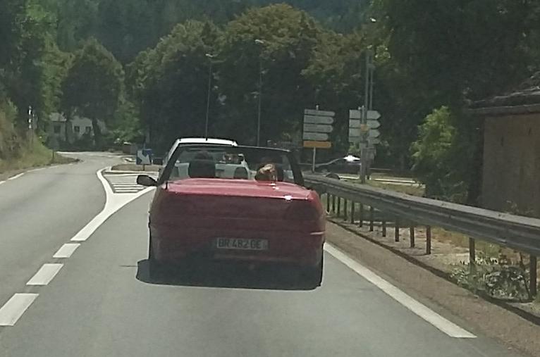 En roulant vers chez moi ....  Outrun10