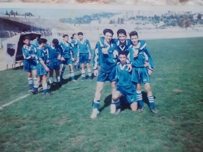 Équipe minime CRBAokas Saison 1995-1996 151