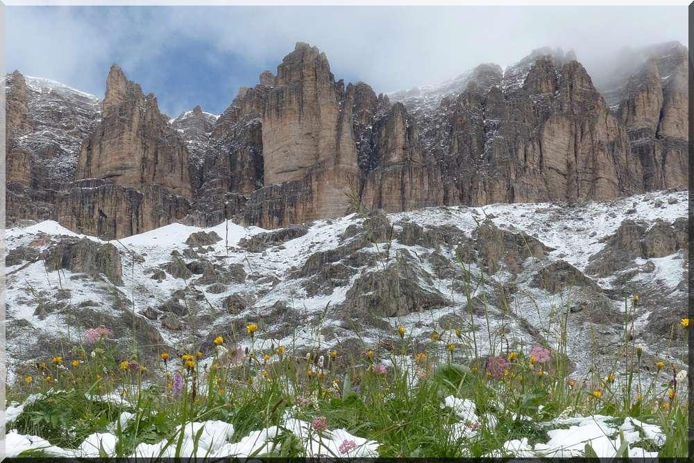 Alpes orientales J6 - Passo Pordoi, Passo Sella (It) P1140020