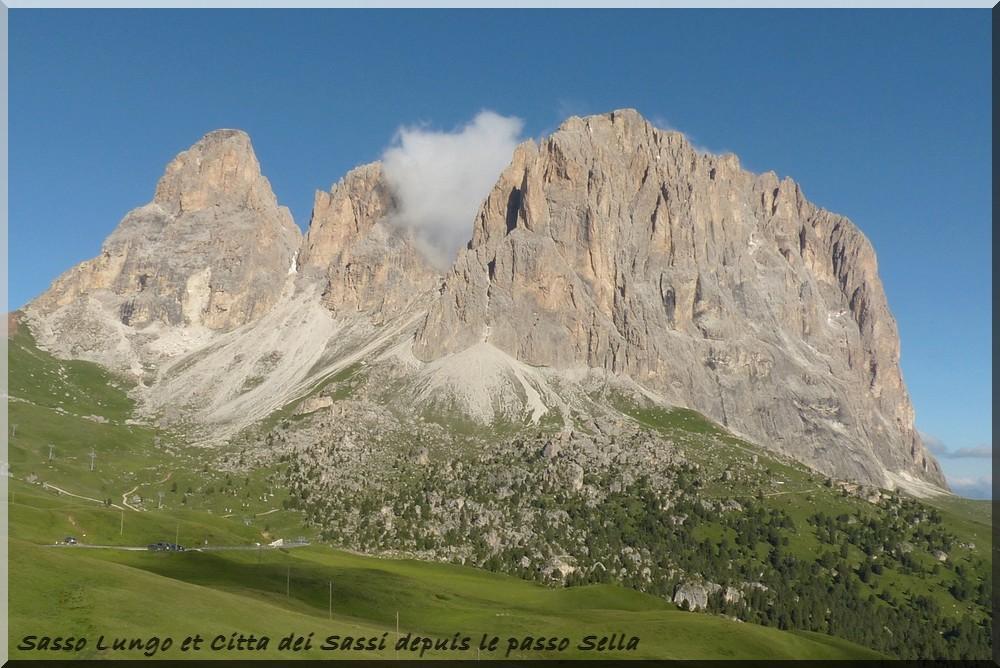 Alpes orientales J6 - Passo Pordoi, Passo Sella (It) P1140111