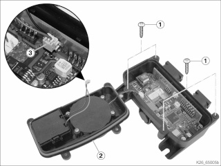 Remplacement piles d'alarme sur 1200 RT Boitie11