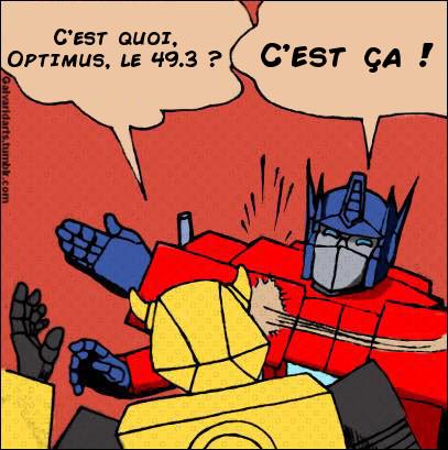 [Mini-Jeu] Générateur de Meme - Imaginez le dialogue - Optimus gifle Bumblebee/Bourdon! - Page 2 Jeumot10
