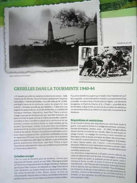 la libération de Griselles en août 1944 L_echo10