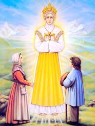 Apparition de La Vierge Marie à la Salette en 1846 Salett10