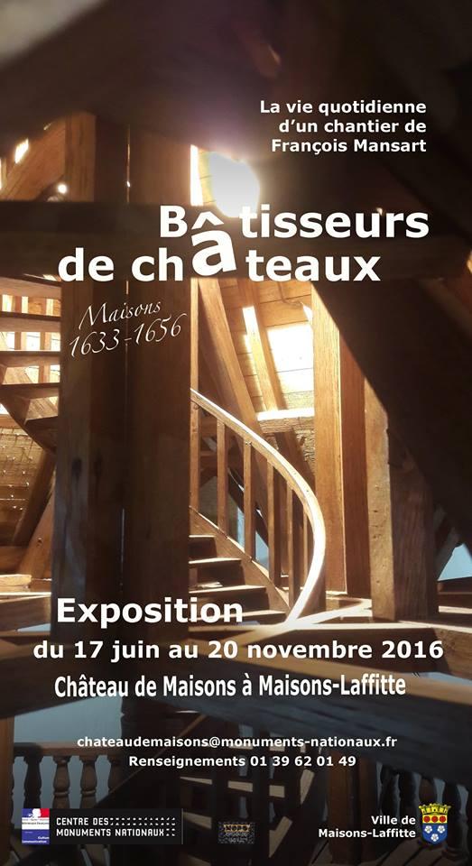 Expo. Bâtisseurs de châteaux à Maisons-Laffitte 13442310
