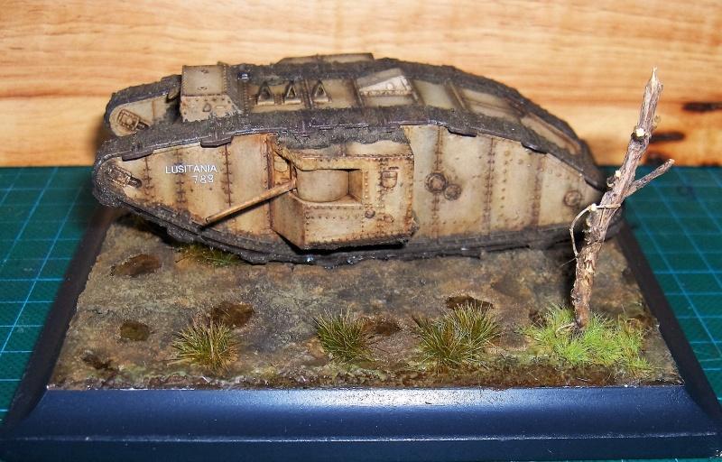British Tank Mk Ii M 226 Le Bataille De Arras Master Box 1 72 176