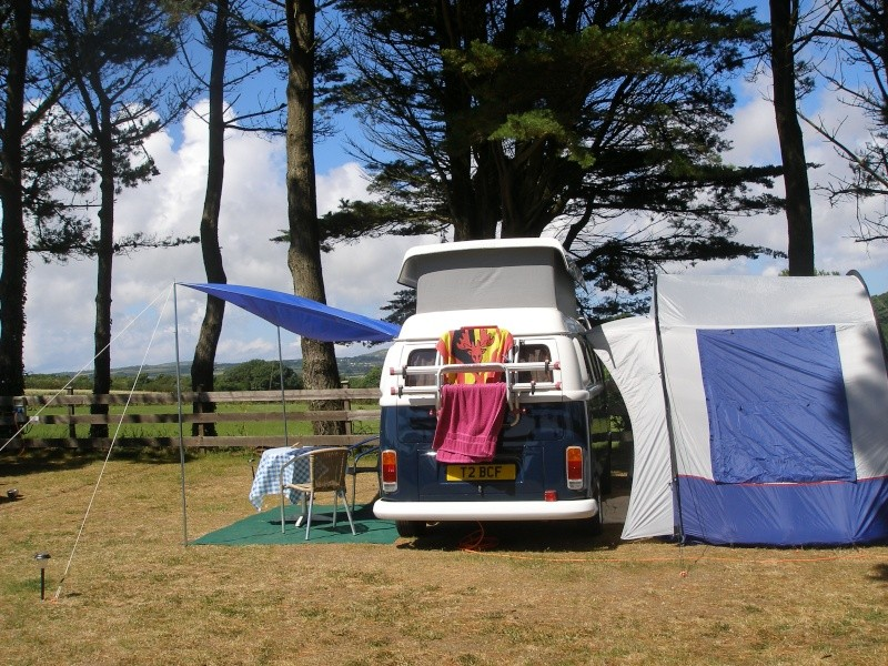 Campsites in Cornwall 01010
